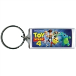 Toy Story 4 Fun Group Woody, Buzz & more Lucite Keychain