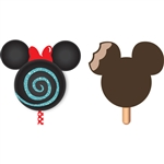 Minnie Lollipop and Mickey Ice Cream Antenna Topper