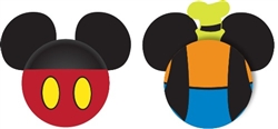 Mickey Mouse and Goofy Body Antenna Toppers