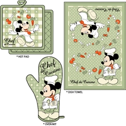 Mickey Chef de Cuisine Kitchen Towel Set