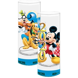 Dated 2020 Sure Shot Mickey Minnie Goofy Pluto, Blue Bottom