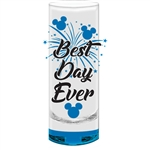 Best Day Ever Fireworks Collection Glass (No Namedrop), Blue Bottom