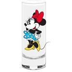 It's Minnie Collection Glass (No Namedrop), Blue Bottom