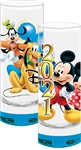 Collection Glass 2021 Sure shots Mickey Minnie Goofy Pluto, Blue