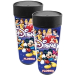 Disney Americana Character Mickey Group Travel Mug (Florida Namedrop)