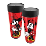 Dancing Minnie Travel Mug, Red