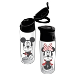Gazing Mickey Minnie Flip Top Water Bottle
