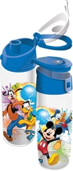 Flip Top Bottle Jumping Fireworks Group, Clear with Blue lid