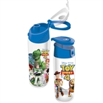 Toy Story 4 Pals Buzz, Woody, Slinky Dog & More Flip Top Bottle
