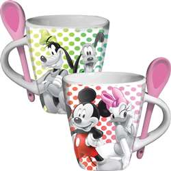 Mickey Groupies Spoon Mug