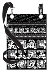 Funny Face Minnie Daisy Passport Bag