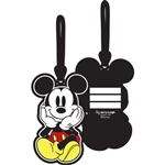 Mickey Sitting Luggage Tag