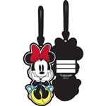 Minnie Sitting Luggage Tag