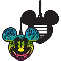 Radical Mickey Rainbow Luggage Tag