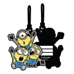 Minion Pals Luggage Tag