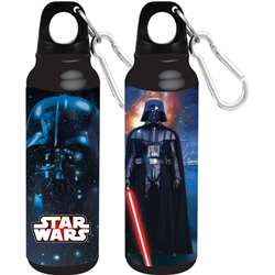 Star Wars Darth Vader Aluminum Bottle Wide Mouth, Black