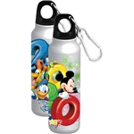 Dated 2020 Hooray Mickey Goofy Donald Pluto Aluminum Water Bottle