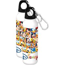 Rubik's Disney Aluminum Water Bottle - Wide Mouth, White
