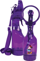 Spray Fan Squeeze Breeze Classic Minnie, Purple (Florida Namedrop)