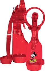 Spray Fan Squeeze Breeze Classic Mickey, Red (Florida Namedrop)