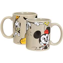 Mickey Minnie Goofy Donald 11oz Boxed Mug