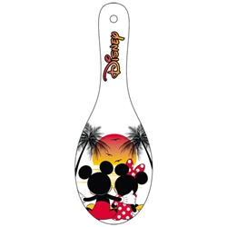 Spoon Rest Mickey Minnie Sunset, Multi