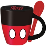 Mickey Signature Shorts Espresso Cup with Spoon