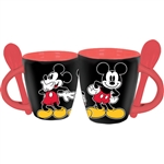 3 Mickey's Espresso Cup with Spoon