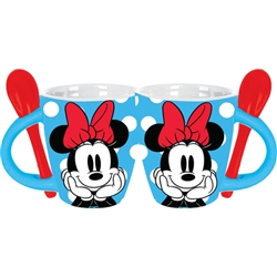 Good Day Minnie Mouse 4oz Espresso Mug, Blue