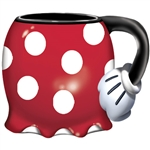 Minnie Dress Jumbo 18oz Sculpted Mug