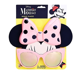 Minnie Mouse Pink Shades Sunstache Sunglasses