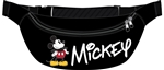 Belly Bag Mickey Standing, Black