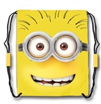 Drawstring Tote Minions Hello Tom, Yellow