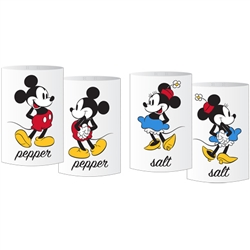 Salt & Pepper Shaker Mickey Minnie Standing