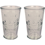 Mickey & Minnie Mouse Farmhouse Tumbler Set, 2pc