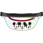 Belly Bag Mickey Trio Faces, Clear