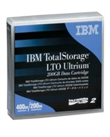 IBM 08L9870 Blue TotalStorage LTO Ultrium 200GB / 400GB Data Cartridge. BULK. IN STOCK.