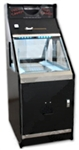 Candy Top Coin Pusher Game Machine with Side Window