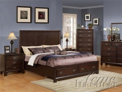 Cappuccino Master Bedroom Set