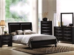 Black Bycast Master Bedroom Set