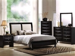 Black Bycast II Master Bedroom Set