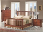 Oak Finish Master Bedroom Set