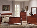 Louis Phillipe Finish Master Bedroom Set
