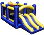 Brand New Inflatable Bounce House & Racing Slide Bouncy House