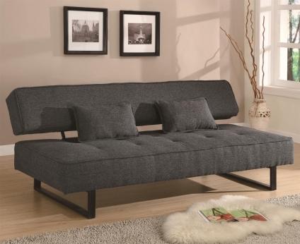 High Quality Sleek Modern Armless Sofa Bed