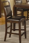 Medium Brown Casual Table Bar Stool