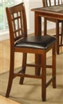 Black Vinyl 24 Inch Bar Stool
