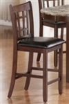 Counter Stool with Vinyl Upholstered Seat