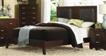 5 Piece Queen, King, or California King Bed Upholstered Platform Style Bed