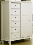 8 Drawer Chest with Sliding Door